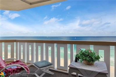 1012 N Ocean Blvd UNIT 1601, Pompano Beach, FL 33062 - #: F10152643