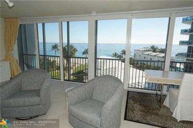 1530 S Ocean Blvd UNIT 503, Pompano Beach, FL 33062 - #: F10155217