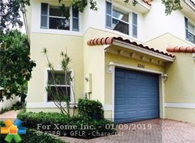 2551 NW 31st Ct UNIT 67, Oakland Park, FL 33309 - #: F10156818