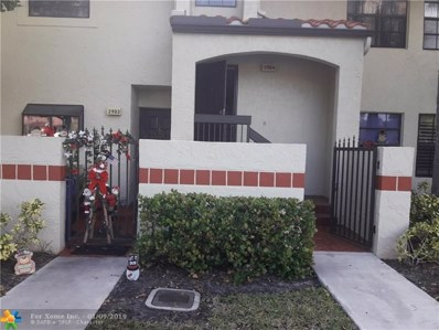 2904 Congressional Way UNIT 2904, Deerfield Beach, FL 33442 - #: F10156874