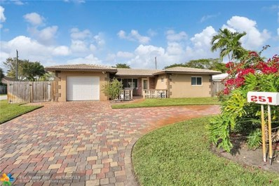 251 NW 35th Ct, Oakland Park, FL 33309 - #: F10164378