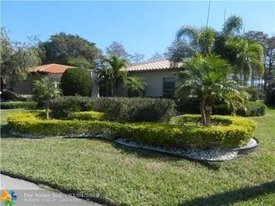 4600 King Palm Dr, Tamarac, FL 33319 - #: F10165298
