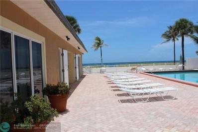 4540 N Ocean Dr. UNIT 306, Lauderdale By The Sea, FL 33308 - #: F10169551