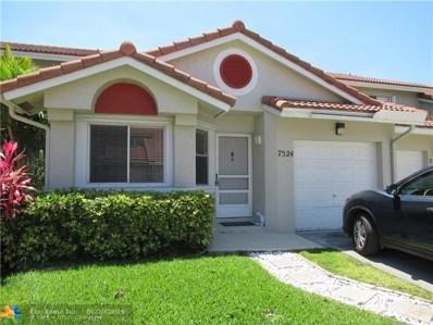 7524 Pinewalk Dr UNIT 173, Margate, FL 33063 - #: F10181002