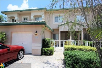7859 Exeter Blvd UNIT 101, Tamarac, FL 33321 - #: F10185930