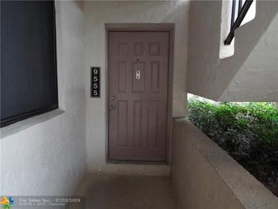 9555 SW 1st Ct UNIT 9555, Coral Springs, FL 33071 - #: F10186326
