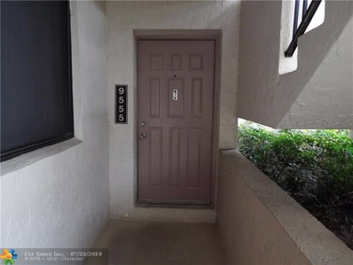 9555 SW 1st Ct UNIT 9555, Coral Springs, FL 33071 - #: F10186326