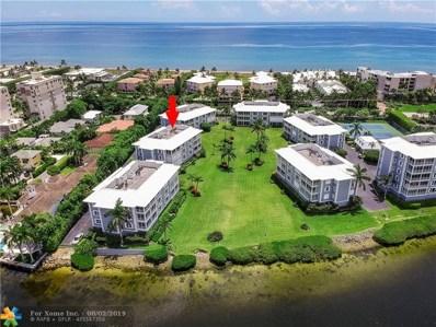 2150 S Ocean Boulevard UNIT 2A, Delray Beach, FL 33483 - #: F10187640