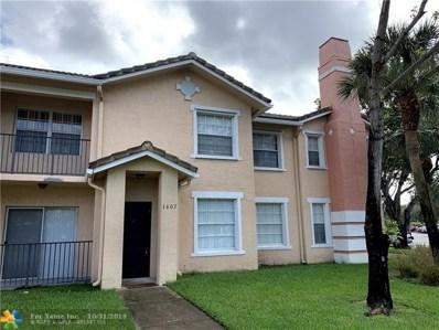 1607 Belmont Ln UNIT 1607, North Lauderdale, FL 33068 - #: F10198600
