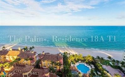 2100 N Ocean Blvd UNIT 18A, Fort Lauderdale, FL 33305 - #: F10200476