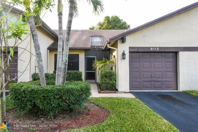 8115 NW 100th Dr UNIT 8115, Tamarac, FL 33321 - #: F10207149