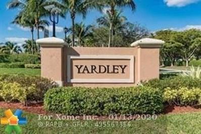 7765 Yardley Dr UNIT 411, Tamarac, FL 33321 - #: F10211452