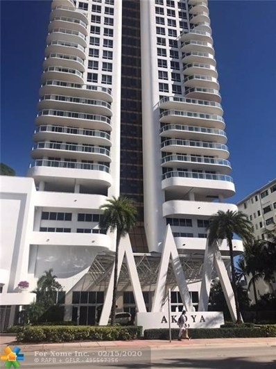 6365 Collins Ave UNIT 2707, Miami, FL 33141 - #: F10211683