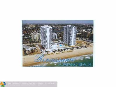 1360 S Ocean Blvd UNIT 404, Pompano Beach, FL 33062 - #: F10046913
