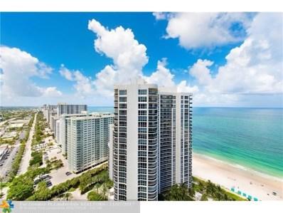 3200 N Ocean Blvd UNIT 2909, Fort Lauderdale, FL 33308 - #: F10092016