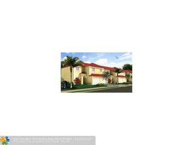 5460 SW 13th Ct UNIT 5460, North Lauderdale, FL 33068 - #: F10096252