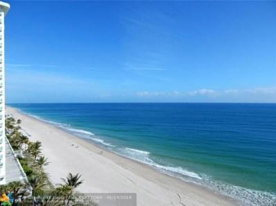 3200 N Ocean Blvd UNIT 1009\/10>, Fort Lauderdale, FL 33308 - #: F10103413