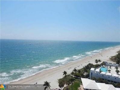1500 S Ocean Blvd UNIT 1507, Pompano Beach, FL 33062 - #: F10118587
