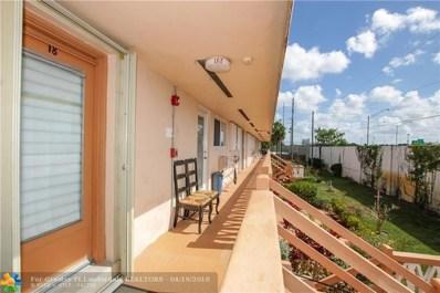 1000 SW 11th Ave UNIT 18E, Hallandale, FL 33009 - #: F10119097