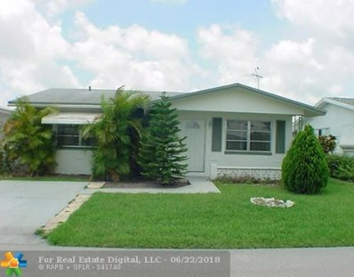 4930 NW 55th Ct, Tamarac, FL 33319 - #: F10125163