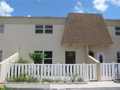8090 NW 12th St UNIT I, Margate, FL 33063 - #: F10129319