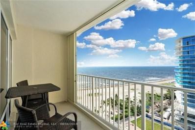 750 N Ocean Blvd UNIT 1605, Pompano Beach, FL 33062 - #: F10132820