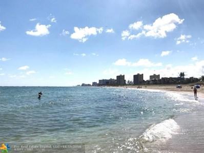 801 N Ocean Blvd UNIT 802, Pompano Beach, FL 33062 - #: F10133811