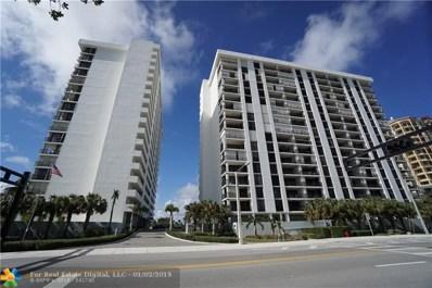 1901 N Ocean Blvd UNIT 9D, Fort Lauderdale, FL 33305 - #: F10134837