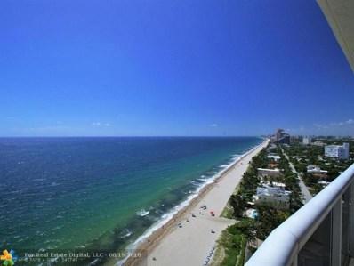 3200 N Ocean Blvd UNIT 2109, Fort Lauderdale, FL 33308 - #: F10137274