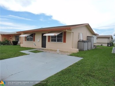 4912 NW 54th Ct, Tamarac, FL 33319 - #: F10139345