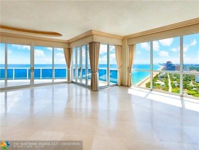 3200 N Ocean Blvd UNIT 2810, Fort Lauderdale, FL 33308 - #: F10144550