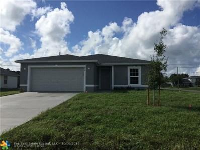 498 SW Dailey Avenue, Port Saint Lucie, FL 34953 - #: F10144582