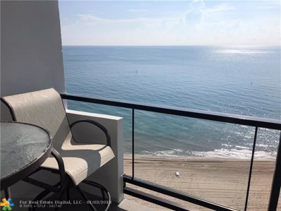 1500 S Ocean Blvd UNIT 1005, Pompano Beach, FL 33062 - #: F10145703