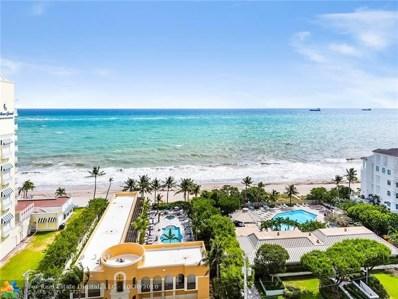 1905 N Ocean Blvd UNIT 14A, Fort Lauderdale, FL 33305 - #: F10147682