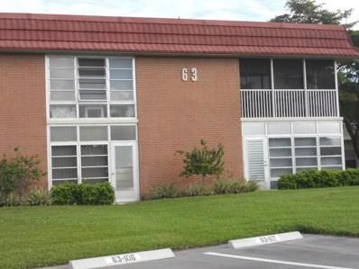 63 Woodland Drive UNIT 101, Vero Beach, FL 32962 - #: 213139