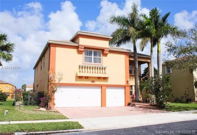 16753 SW 12th St, Pembroke Pines, FL 33027 - #: A10409414