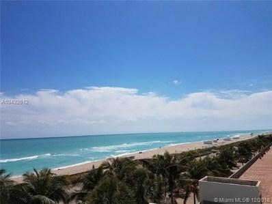 6061 Collins Av UNIT 5-F, Miami Beach, FL 33140 - #: A10432612