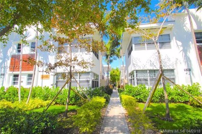 1550 Pennsylvania Ave UNIT 114, Miami Beach, FL 33139 - #: A10437725