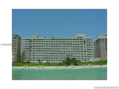 5555 Collins Ave UNIT 17R, Miami Beach, FL 33140 - #: A10463899