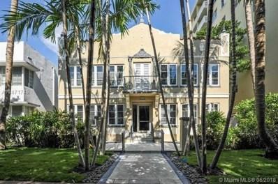 1018 Meridian Ave UNIT 1, Miami Beach, FL 33139 - #: A10471749