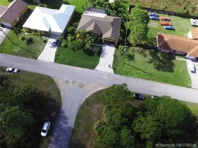 1726 SW MacKenzie St, Port St. Lucie, FL 34953 - #: A10499157