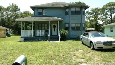 1703 N 43rd St, Fort Pierce, FL 34947 - #: A10510958