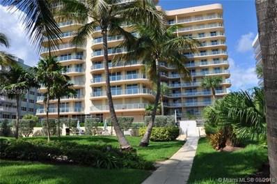 8855 Collins Ave UNIT 7E, Surfside, FL 33154 - #: A10520381
