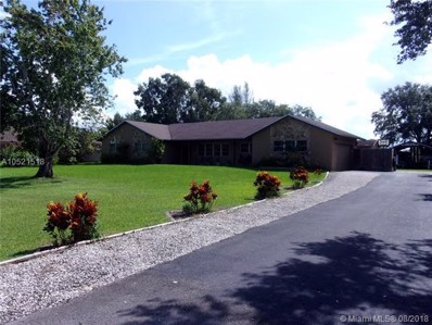 5610 SW 195th Ter, Southwest Ranches, FL 33332 - #: A10521518