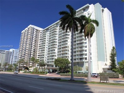 5701 Collins UNIT 1203, Miami Beach, FL 33140 - #: A10525478