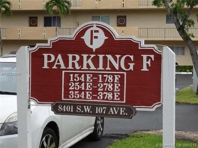 8401 SW 107th Ave UNIT 357E, Miami, FL 33173 - #: A10530840