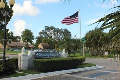 434 NE 210th Cir Ter UNIT 203-4A, Miami, FL 33179 - #: A10531219