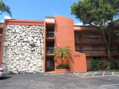 3110 Holiday Springs Blvd UNIT 309, Margate, FL 33063 - #: A10535769