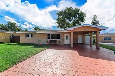 1560 NW 79th Way, Pembroke Pines, FL 33024 - #: A10540899