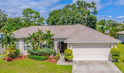 1359 SW Axtell Ave, Port St. Lucie, FL 34953 - #: A10555350